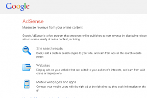Earn Money Online Blogging with Adsense