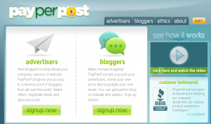 Earn Money Online from Payperpost