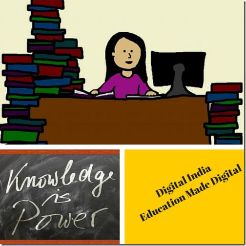 Digital India Education Made Digital