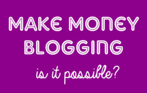 Blogger Earning Series